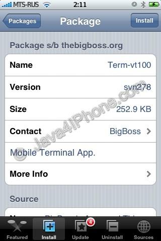 Tutorial: install Java on the IPhone | iPhoneRoot com