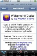 Run Cydia Installer