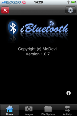 how to use iphone 4 bluetooth as file transfer