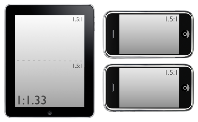iPad aspect ratio