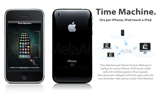 time machine iphone