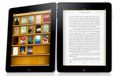 iPad gallery in iBooks