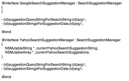 search-suggestion