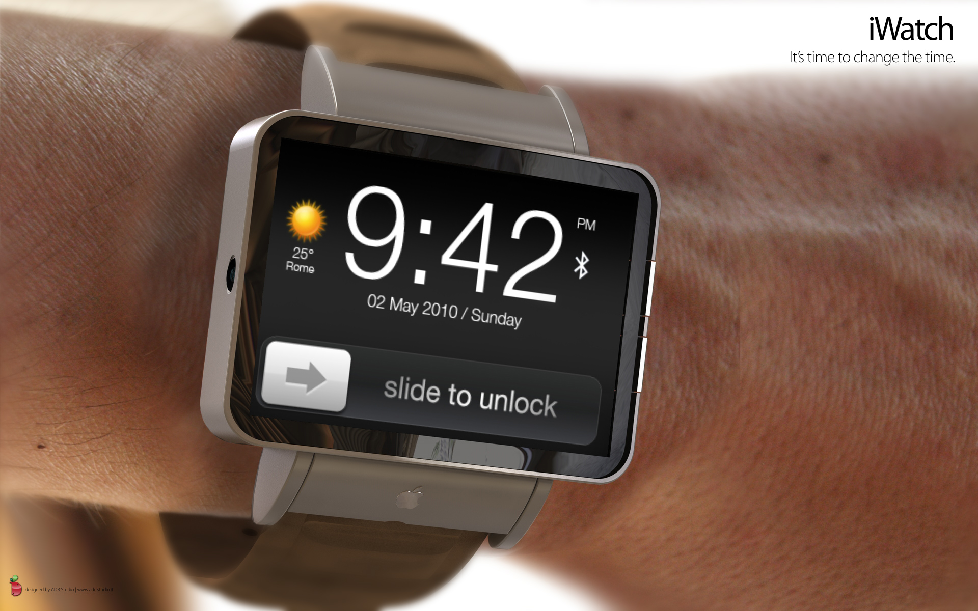 Interesting Concept of Apple iWatch