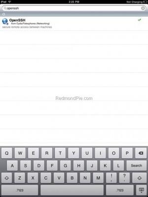 OpenSSHoniPad