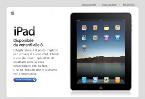 iPad Italy