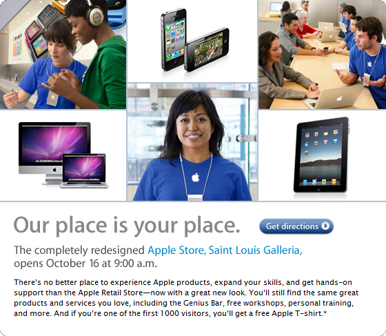St Louis Apple Store