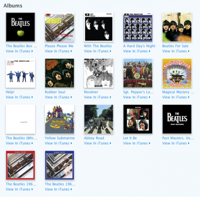 The Beatles-albums