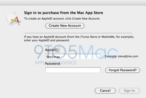MacAppStoreLogin