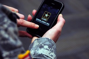 USA army and iphone