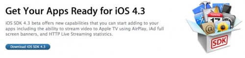 ios4.3 for developers