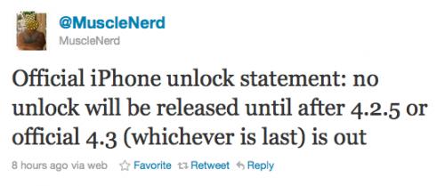 no unlock