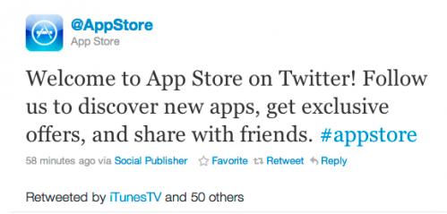 twitter for app store