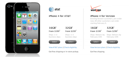 verizon iphone pre-order