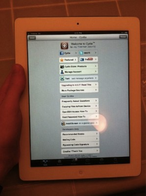 ipad jailbroken