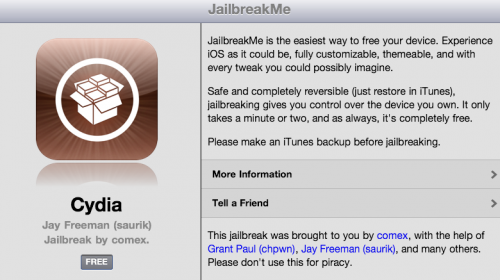 JailbreakMe2 500x280 The new JailbreakMe for iOS 4.3.3 has officially been released
