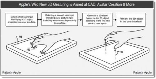 apple patent 3D