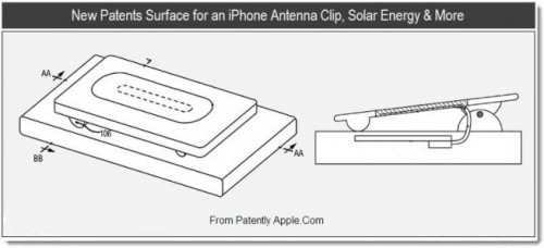 Apple antenna clip