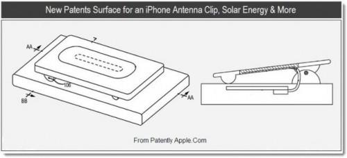 Apple antenna clip