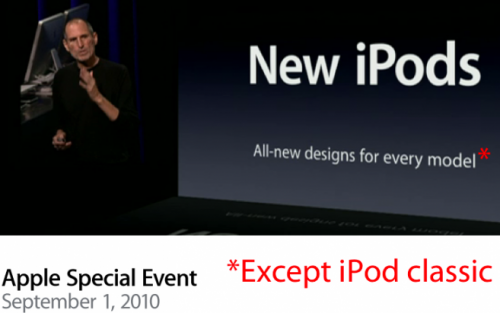 new iPods
