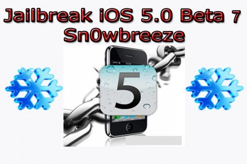 Sn0wbreeze Thumbnail beta 7 500x333 How To Install and Jailbreak iOS 5 Beta 7 without Developer Account