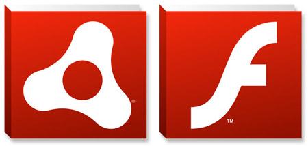 adobe-flash-and-air-logos