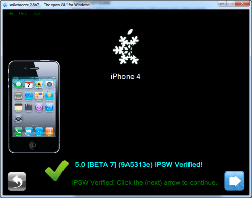 ios5b7 500x392 How To Install and Jailbreak iOS 5 Beta 7 without Developer Account