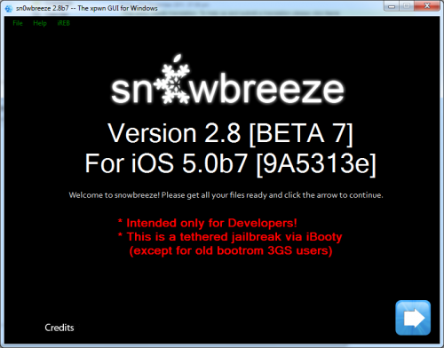 sn0wbreeze28b7 500x392 iH8Sn0w released Sn0wBreeze 2.8b7 to jailbreak, hactivate and bypass UDID check for iOS 5 Beta 7