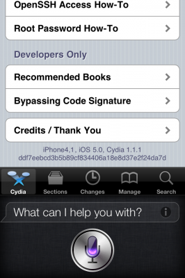 iphone 4s jailbreak 2 266x400 Hackers have successfully made iPhone 4S jailbreak