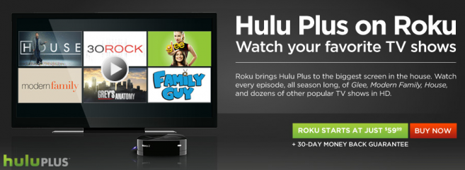 holu plus on roku