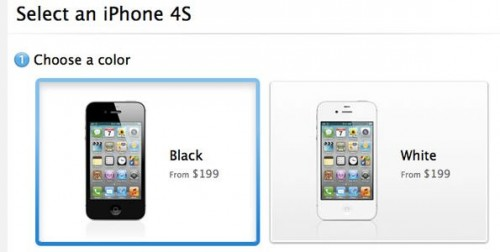 iPhone select