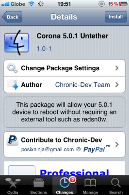 How to install untethered iOS 5.0.1 jailbreak