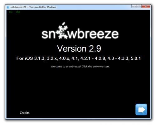 sn0wbreeze 29 500x399 Sn0wBreeze 2.9 released: brings iOS 5.0.1 untether