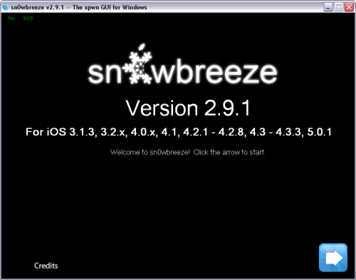 sn0wbreeze291 500x393 Sn0wBreeze updated to 2.9.1