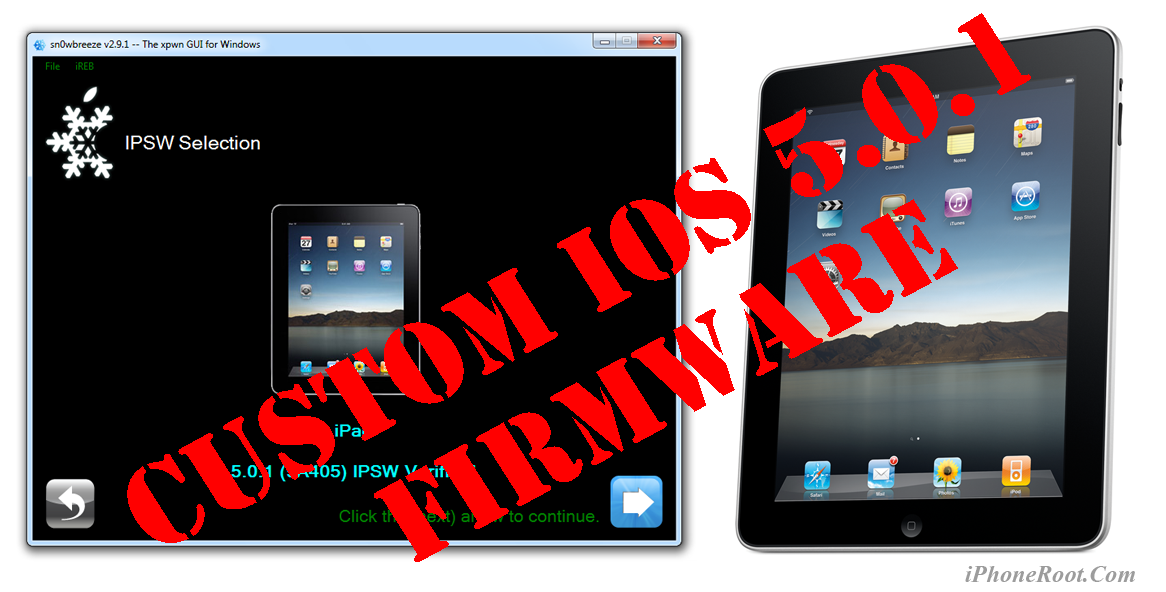Step-by-step Tutorial: How to UnTether Jailbreak iPad 1 Using
