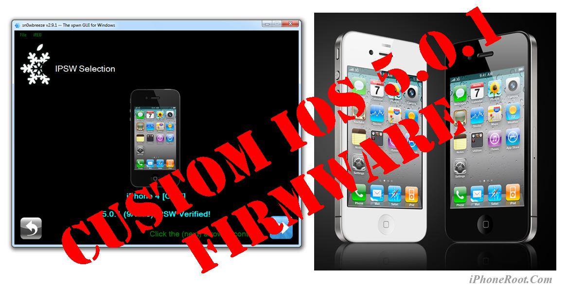 Джейлбрейк iphone 3g с ios в windows с помощью sn0wbreeze