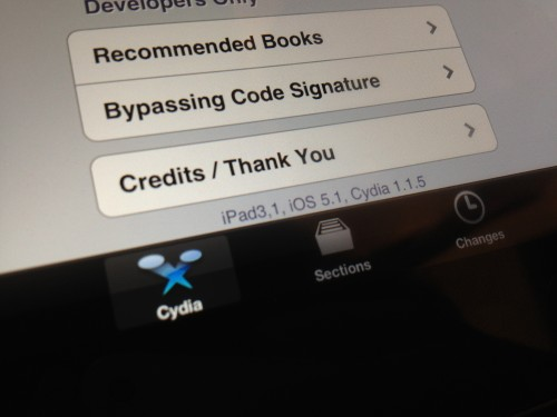 ipad3 jail 3 2 500x375 iPad 3 was jailbroken three times using three different methods