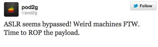 aslr Сделан еще один шаг к отвязанному джейлбрейку iOS 5.1