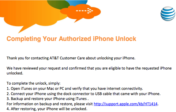 iphone unlock Tutorial: how to unlock iPhone from AT&T