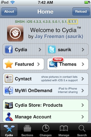 Cydia SHSH blobs 5.1.1 Save your SHSH blobs for iOS 5.1.1