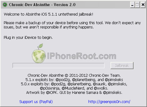 absinthe20 How to run Absinthe 2.0 jailbreak