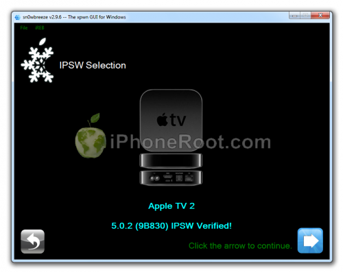 sn0wbreeze 296 aooletv2g 500x397 Sn0wBreeze 2.9.6 released: added Apple TV 2G iOS 5.0.2 9B830 support