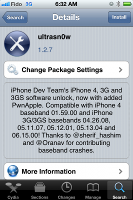 ultrasn0w 127 266x400 iPhone Dev Team обновила UltraSn0w поддержкой iOS 5.1.1