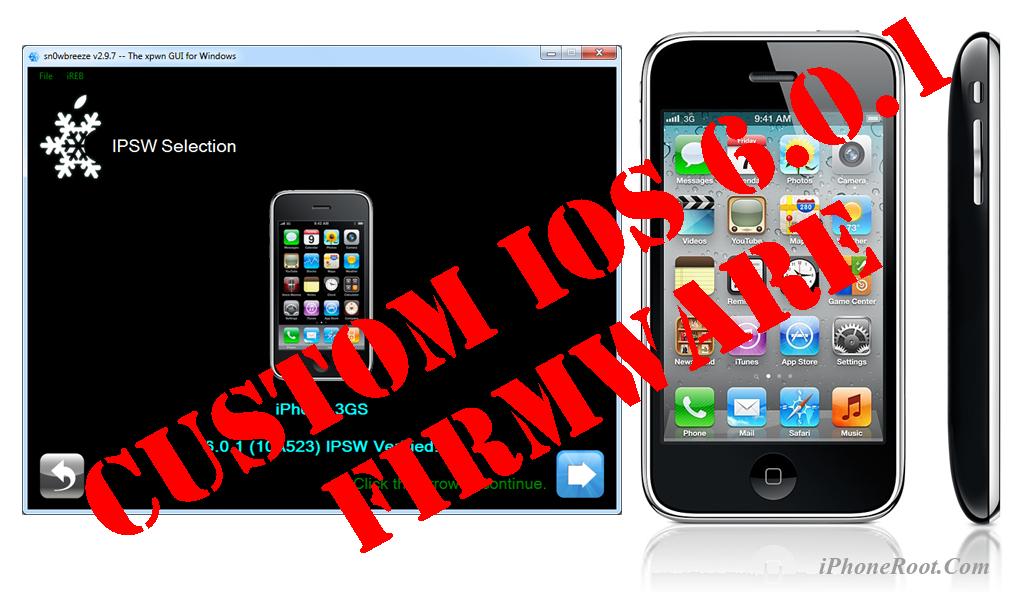 Custom Firmware | iPhoneRoot com