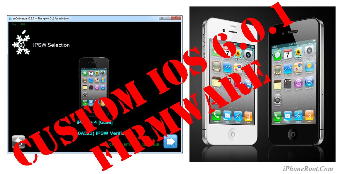 Video's van Download custom firmware 6.0 iphone 4