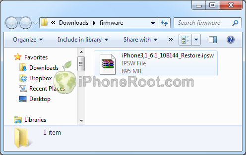 download Step by step Tutorial: How to perform correct restore for iOS 6.1 jailbreak