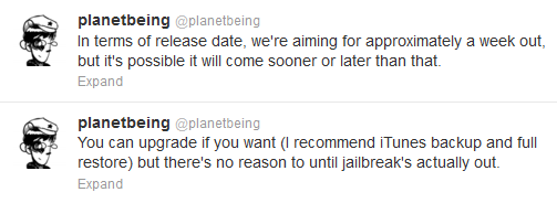 ios61 release date Planetbeing confirmed iOS 6.1 untethered jailbreak releae in the near future