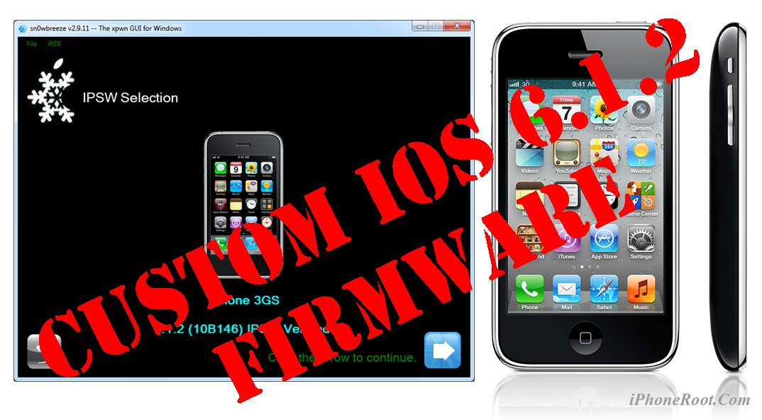 How to jailbreak and unlock iphone 3gs 6.1 3