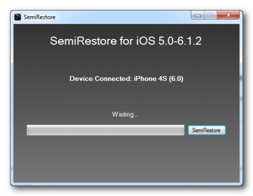 semi restore 500x387 Semi Restore Lets You Wipe Your iPhone Without Losing Your Jailbreak