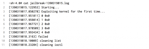 exploit ios7 500x167 iOS 7.1b4 Blocks Kernel Exploit Used In Evasi0n iOS 7 Jailbreak